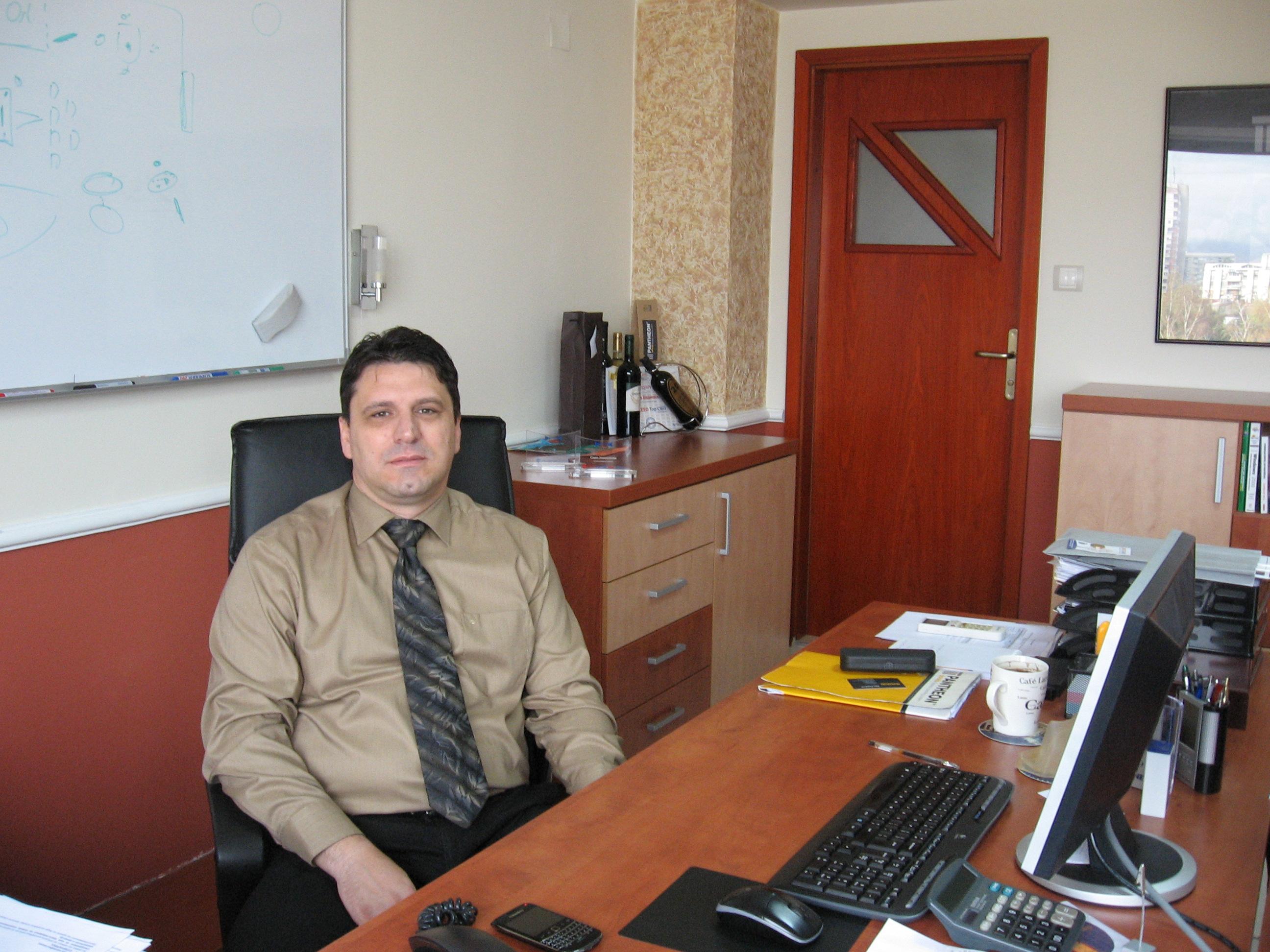 Сашо Јовановски, директор на македонската филијала на Даталаб